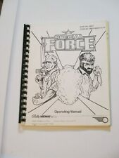 1986 Bally Special Forces Pinball Manual