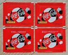 Panini EM 2020 - Coca Cola 4 different TÜTEN - Swiss - Croatia - Italy - Austria