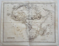 1838 ORIGINAL MAP OF AFRICA BY DUFOUR & DESBUISSONS