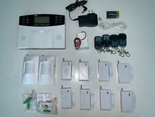 Wireless Wired Lcd Home House Alarm System Security Burglar Sensors