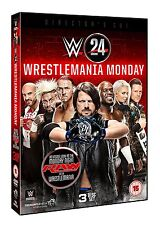 WRESTLEMANIA MONDAY (WWE) BOX 3 DVD in Inglese NEW .cp