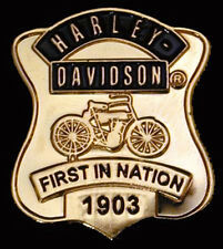 Harley Davidson First Nation Retro Harley Pin