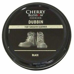 3 x Cherry Blossom Black Sports Dubbin 50ml Tin Ideal For Football Boots