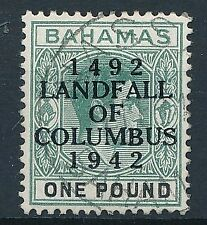 [295] Bahamas 1942 good stamp very fine used