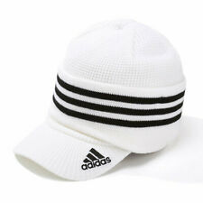 Adidas 3 Way Knit Cap (N68307) Winter Sports Golf Beanie Visor Ear Warmer Hat