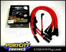 Eagle Spark Plug Leads 10.5mm Holden V8 5.0L 304 RED VN VP VR VS VT E1058101R