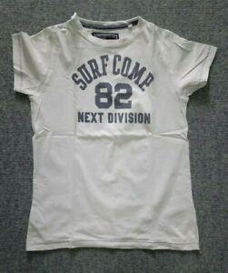 boys NEXT cream t-shirt age 11
