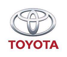 Original Toyota Urban Cruiser Sat Nav Owners Manual