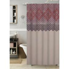 Cannon Global Border Fabric Shower Curtain