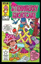 STRAWBERRY SHORTCAKE 1 9.4 NEAR MINT 1985 MARVEL WHITE PAPER HIGH GRADE