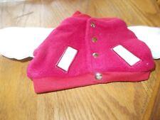Herrington Teddy Bears Letterman'S Jacket (Red & Whiite)