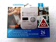 Grundig Kohlenmonoxidmelder Gas Warner Kohlenmonoxid Alarm Gas 7 Jahressensor