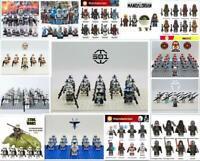 Star Wars Mandalorian Serie Bausteine Minifiguren Fit Lego Spielzeuge Sammlungen