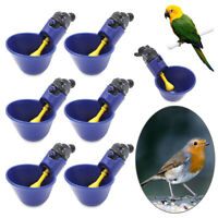 Plastic Plastic Automatic Drinker Poultry Water Drinking Cups Chicken Hen