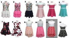 Markenlose Kurzarm Größe 104 Mädchenkleider