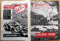 'L'Actualite Automobile' 1948 French Car Magazine, Auto Show/Salon Article
