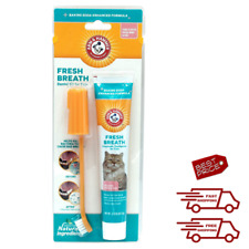 Oral Dental Care for Cats Dental Kit Toothbrush Toothpaste Fingerbrush Fresh