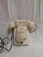 Altes Arzt-Telefon Wandtelefon Kombitelefon elfenbeinfarben 50er Nostalgie