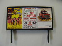 Mutiny on The Buses, The Beatles & The Austin Seven - Model Railway Billboard -