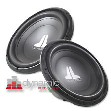 "2 JL AUDIO® 15W0v3 Car Subwoofers 15"" SVC 4-Ohm W0v3 Subs Woofer 1,000W Pair New"