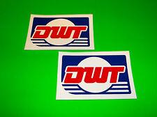 DWT DOUGLAS WHEEL ATV UTV GOLF CART BUGGY QUAD TIRES RACING DECALS STICKERS