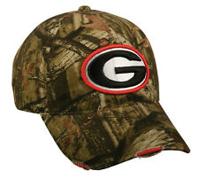 Georgia Bulldogs Football Mossy Oak Break Up Infinity Camo Frayed Hunting Hat