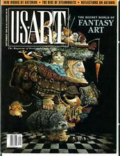 US ART, 9/90, rare US art quality magazine, world of Fantasy art, Robert Bateman