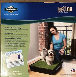 PetSafe PWM00-14498 Pet Loo Portable Dog Potty Alternative to Puppy Pads Medium