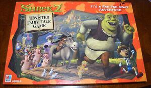 Shrek 2 Board Game Replacement Parts & Pieces 2004 MB Milton Bradley