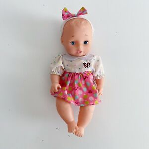 """Baby's First Baby Doll Vintage 1975 GCLLC 10"""" Jiggly Rubber Doll"""