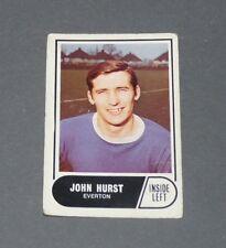 A & BC GUM CARD FOOTBALL ENGLAND 1969 JOHN HURST EVERTON TOFFEES GOODISON PARK