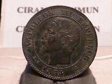 PL(22) - 2 CENTIMES - NAPOLEON III - 1854 K - RECHERCHEE & QUALITE TTB !