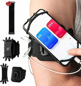 Famiry Running phone holder Armband Sports 360°Rotation & Detachable Lightweight