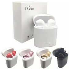 New Wireless Bluetooth Earbuds Headphones with Charging Case Apple or Android