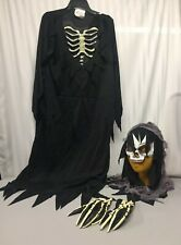 Skeleton Grim Reaper Halloween Costume California Costumes Size Large