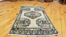 Antique 1900-1930s Turkish Tribal Rug 1'8'' x 2'11""
