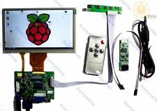 7inch HDMI+VGA+2AV LCD Controller touch screen display driver For Raspberry Pi