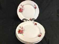 "Royal Stafford England ""HONEY BUNCH"" ~ Set of 5 ~ Luncheon Plates ~ 8 1/4"""