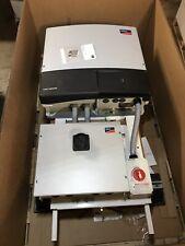 SMA SOLAR PANEL 3 PHASE INVERTER STP 24000TL US 10 CONNECTION RACK CU1000-US-10