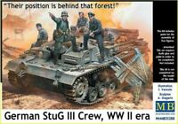 Masterbox 1:35 scale kit  German StuG III Crew (Behind the forest!)  MAS35208