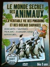 LE MONDE SECRET DES ANIMAUX - OISEAUX - DVD Neuf