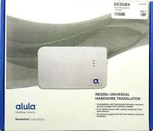 Alula Interlogix 8-Zone RE508X Universal Hardwired Translater Security Alarm NEW