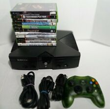Original Xbox Game System Bundle Includes 10 Games, Controller And Cords