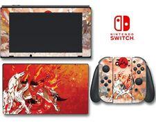 Okami Wolf God Amaterasu Okamiden Puppy Game Decal Skin for Nintendo Switch