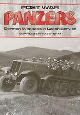 GERMAN PANZERS CZECH ARMY Post War Vehicles Service NEW Second World War History