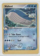 2003 Pokémon EX Ruby & Sapphire Booster Pack Base #14 Wailord Pokemon Card a1w