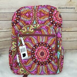 NWT Vera Bradley Campus Backpack in Resort Medallion Bag Kids New with Tag