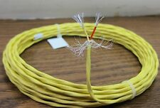 25 feet 22 AWG Shielded Silver Plated Wire Twisted Pair Kynar