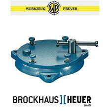 BROCKHAUS Heuer Drehteller f.Schraubstock 140mm Backenb