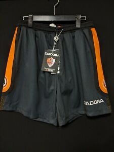 1997-98 AS Roma 3rd Football Soccer Shorts DIADORA L BNWT